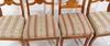 Stolar, 4 st, biedermeier, 1800 tal