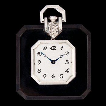 1426. FRACKUR, bergkristall och små diamanter, Art Deco.