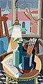 "AXEL OLSON, ""Interiör"" (Interior). Signed A..."