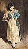 "Anders zorn, ""spanjorska i svart barett"" (spanish lady in black beret)."