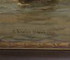 Dixon, charles, olja på duk, sign o dat 1896.