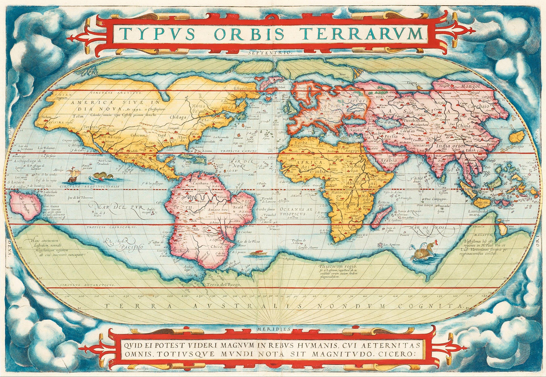 Abraham Ortelius, Ur: Theatrum Orbis Terrarum