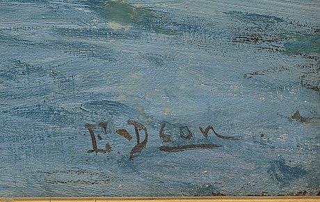 """Elin danielson-gambogi, """"sailing""""."""