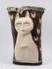 Vas, keramik, sonia thunborg. sign