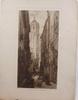 Parti grafiska blad samt tryck, ca 10 delar, 1800/1900-tal.