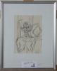 Giacometti, alberto, litografi, utgiven av l´ateliers mourlot.