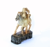 Figurin, soapstone mm.