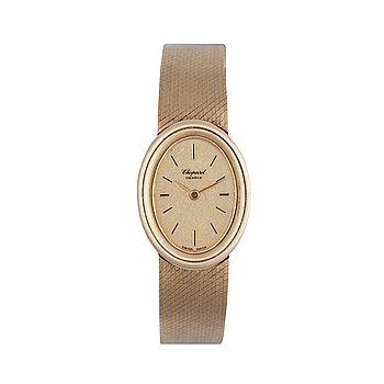 1233. Chopard - Geneva. Gold. Manual winding. 1960s. 19 x 25mm.