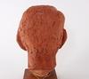 Skulptur, terracotta, sign ture thörn.
