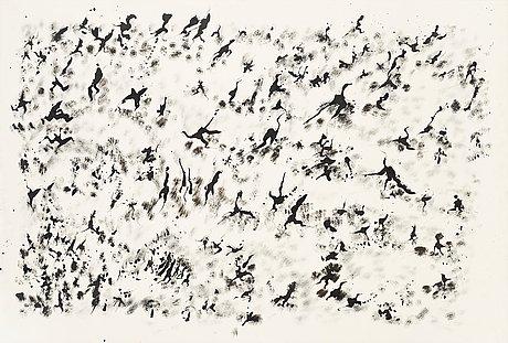 Henri michaux, untitled.