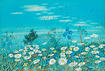 4. Oskar Bergman, Meadow Flowers.