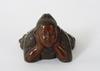Figuriner, 4 st, brons, trol japan.