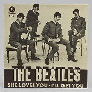 378820. VINYLSINGEL, Beatles, 1960-tal.