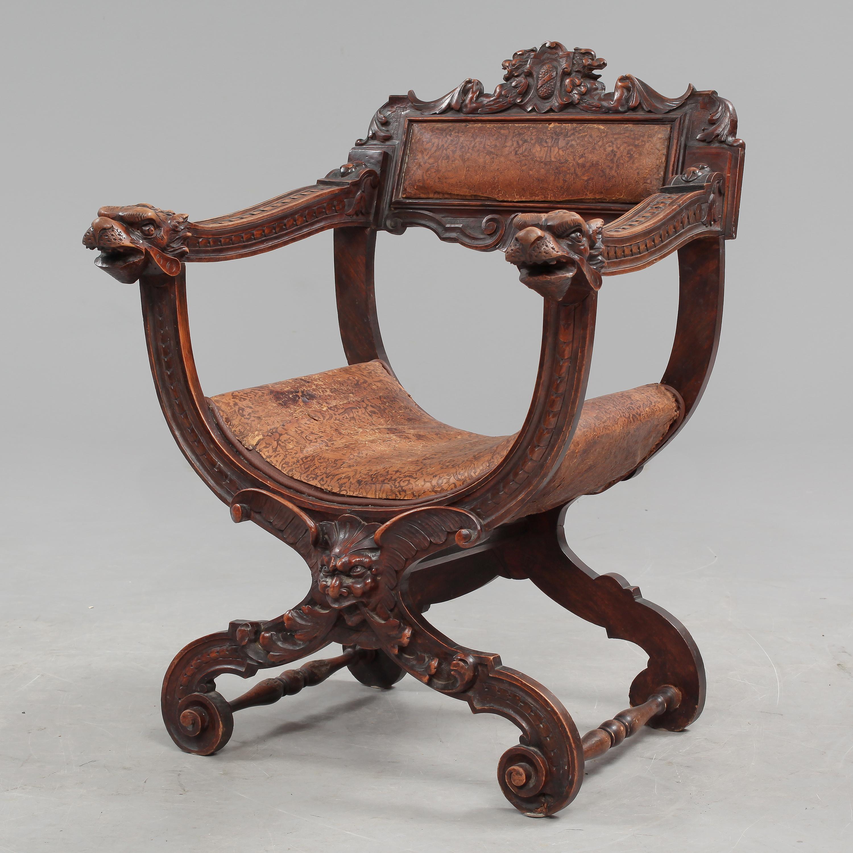 dantestol auktion ~ karmstol, s k dantestol, omkring sekelskiftet 18001900