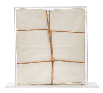 """199. Christo & Jeanne-Claude, """"Wrapped Book""""."""