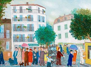 "19. LENNART JIRLOW, ""Parisbild""."