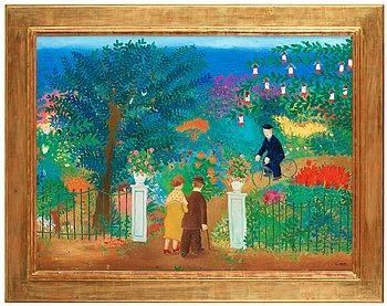 """22. LENNART JIRLOW, """"I trädgården""""."""