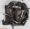 A hertha hillfon glazed stoneware sculpture.