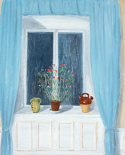 "Hilding linnqvist, ""fönstret"" (the window)."