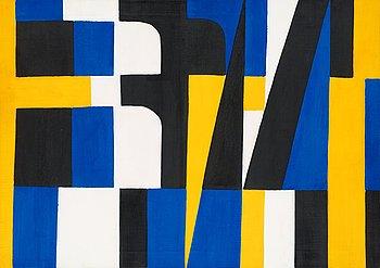 """37. Lennart Rodhe, """"Kontraster II"""" (Contrasts II)."""