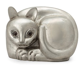 472. ESTRID ERICSON, siamesisk katt, Firma Svenskt Tenn, Stockholm 1960.