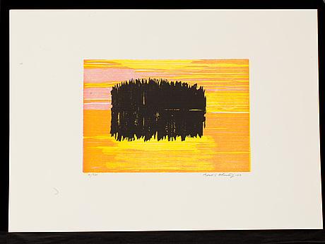 Föreningen för grafisk konst, 11 st årsmappar, år 1998-2008.