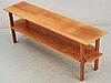 A josef frank mahogany table, svenskt tenn, model 648.