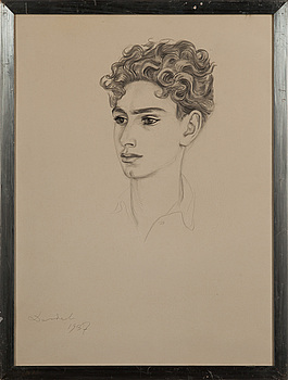 NILS VON DARDEL, NILS VON DARDEL, teckning signerad och daterad 1937.