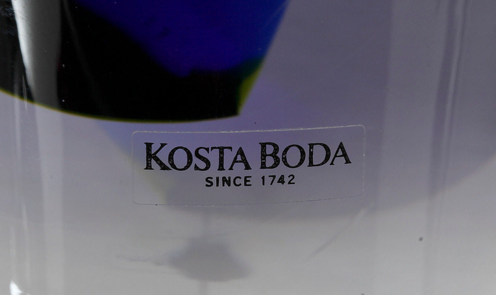 VAS, glas, Göran Wärff Kosta, 1900-talets andra hälft.