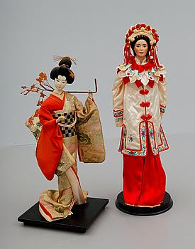 Dejta japanska porslin dockor