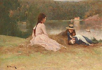 13. Hanna Hirsch-Pauli, Serene summer eve.