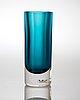 """A mona morales schildt """"ventana"""" glass vase, kosta 1950's 60's"""