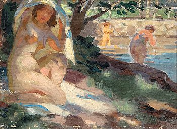 9. Santeri Salokivi, LADIES ON THE SHORE.