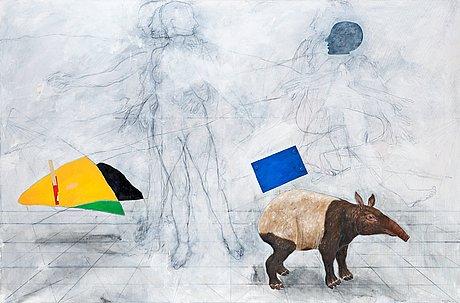 "Pg thelander, ""tapir - india 1992""."