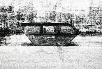 """305. Klara Lidén, """"Untitled (Dumpster Dino)"""", 2011."""