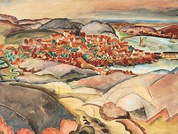 116. John Sten, Landscape from Skaftölandet, Bohuslän, Sweden.