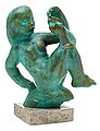 CARL MILLES, Girl playing with her toes. Si...