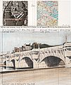 "CHRISTO, ""The Pont Neuf, Wrapped (Project f..."