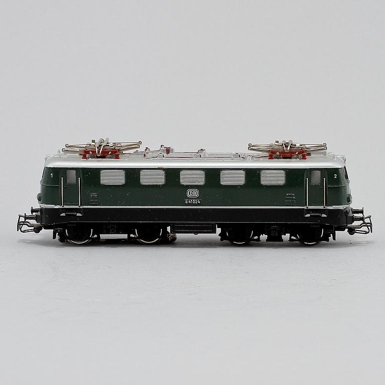 """LOK, """" E41024 DB"""", Märklin, Västtyskland, 1900-talets andra hälft."""