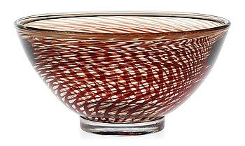 849. Edward Hald, An Edward Hald 'Slipgraal' glass bowl, Orrefors 1954.