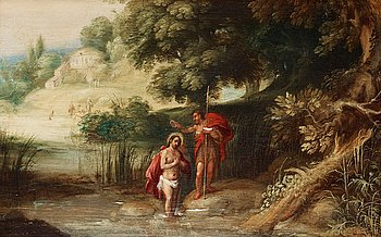 864. GYSBRECHTS LEYTENS Hans efterföljd, Jesu dop.