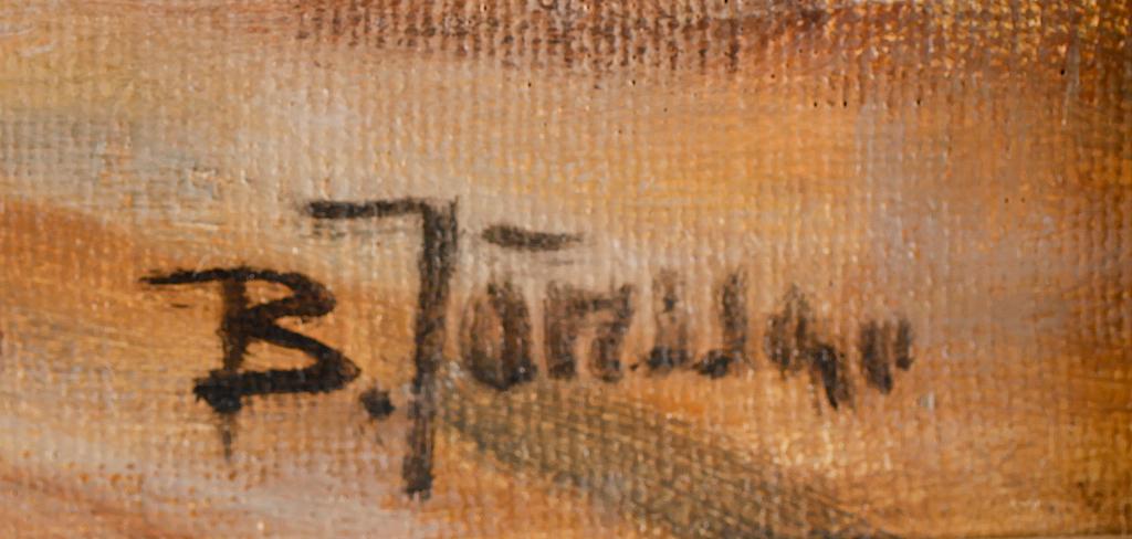 BROR JÖNSSON, olja på duk, signerad.