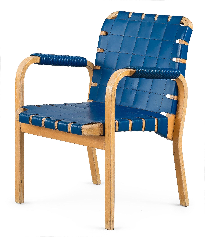 Alvar aalto 45bent laminated birch armchair for artek for Alvar aalto muebles
