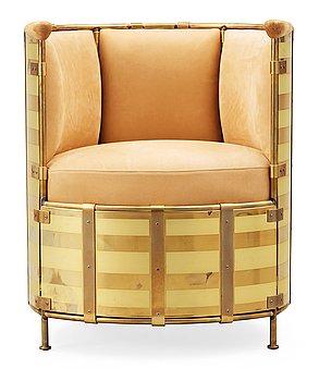 A Mats Theselius 'El Dorado' armchair, by Källemo, Sweden post 2002.