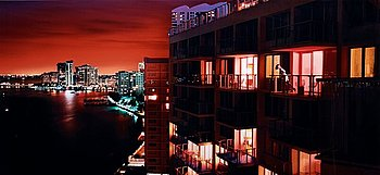 "305. DAVID DREBIN, ""Miami at Night"", 2009."