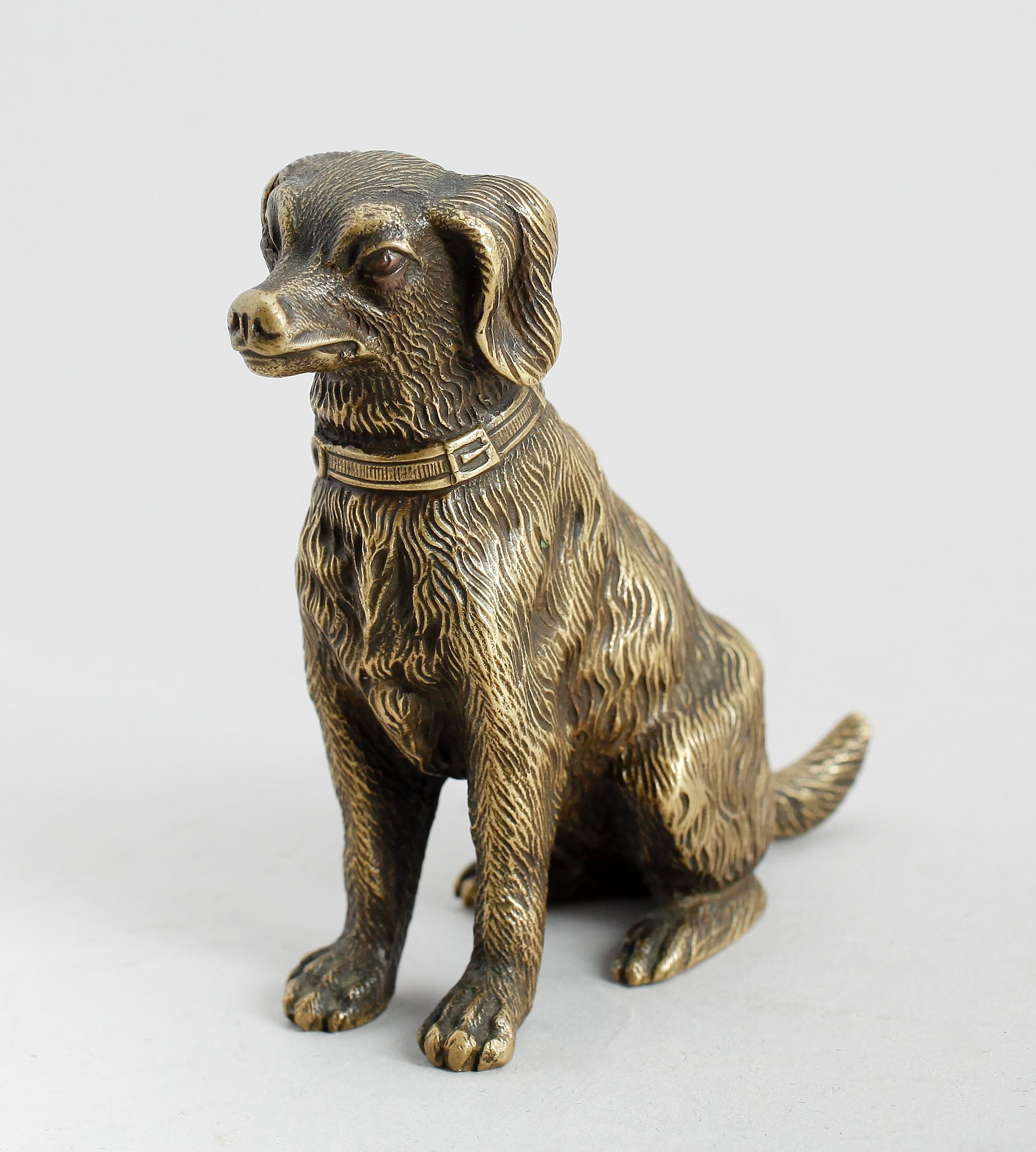 Joseph Victor Chemin Skulptur Hund Signerad Bukowskis