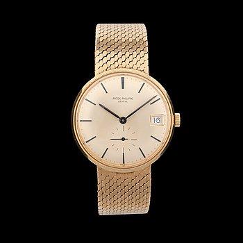 1220. Men's watch. Patek Philippe. Automatic. Gold / Gold.  Ref. 3445/6. 35mm.