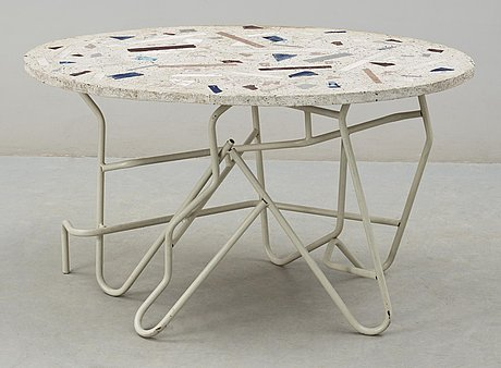 A mats theselius & staffan wikberg 'terrasso' table, stockholm 1984.