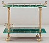 An aldo tura serving trolley, italy, 1950-60's.