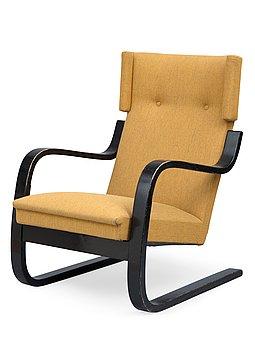 14. Alvar Aalto, AN ARMCHAIR No 36.